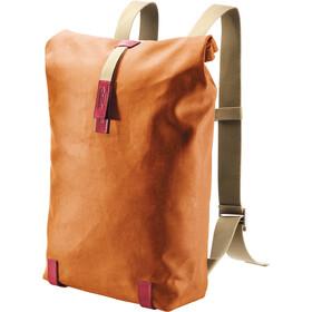 Brooks Pickwick Canvas Backpack M, goose beak/maroon